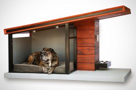 hundeh tte im stil moderner architektur. Black Bedroom Furniture Sets. Home Design Ideas