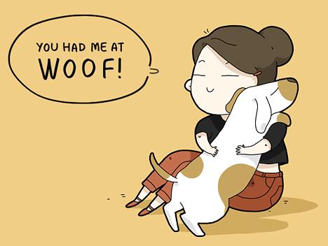 witzige-hunde-illustrationen