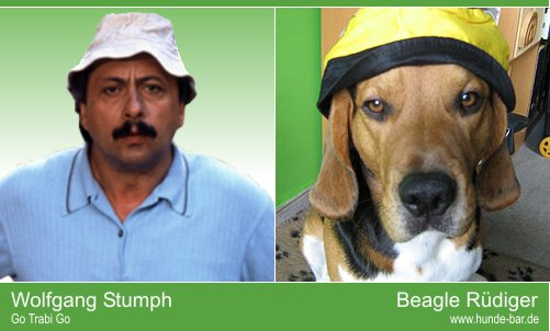 Dog look-alike Foto Wettbewerb