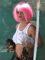 Britney Spears und ihre Hunde