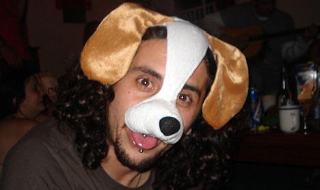 Hunde Maske für Menschen