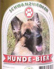 Schwanzwedler Hunde Bier