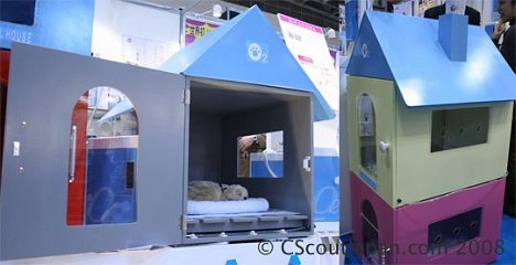 O2 Doghouse Sauerstoff-Therapie für Hunde